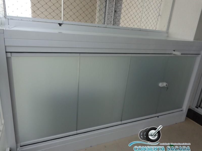 Depois - Instalação de caixa de vidro